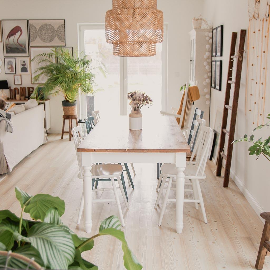 stół drewniany diy