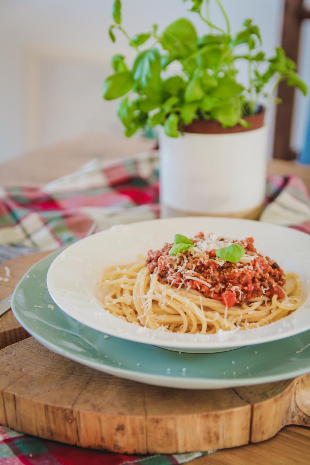 klasyczne Spaghetti Bolognese