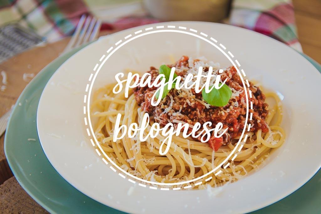 Spaghetti Bolognese przepis