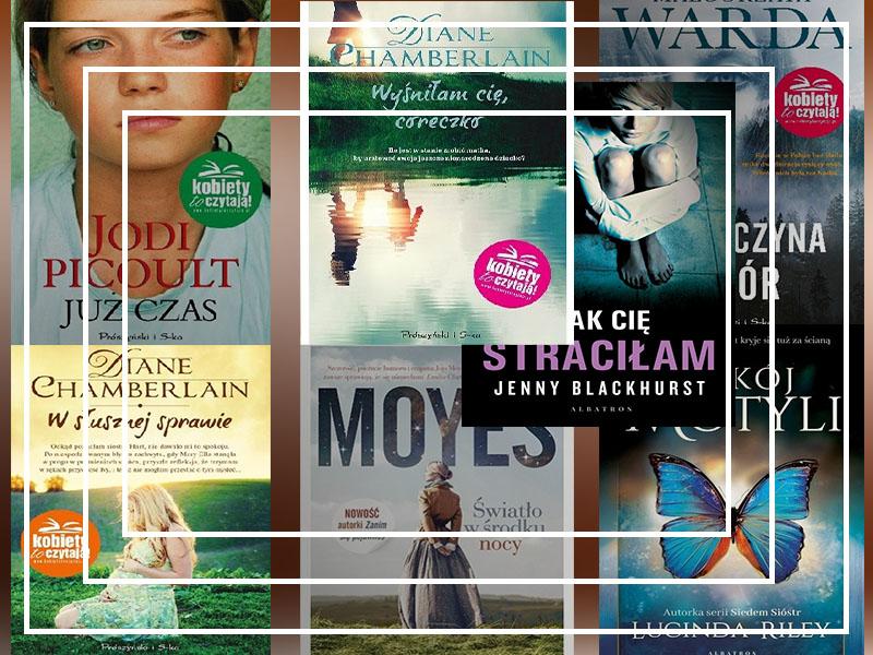 7 książek, które z łatwością pomogą Ci oderwać myśli!