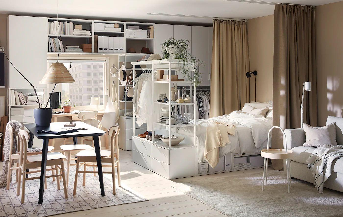 Łóżko, jako miejsce do przechowywania