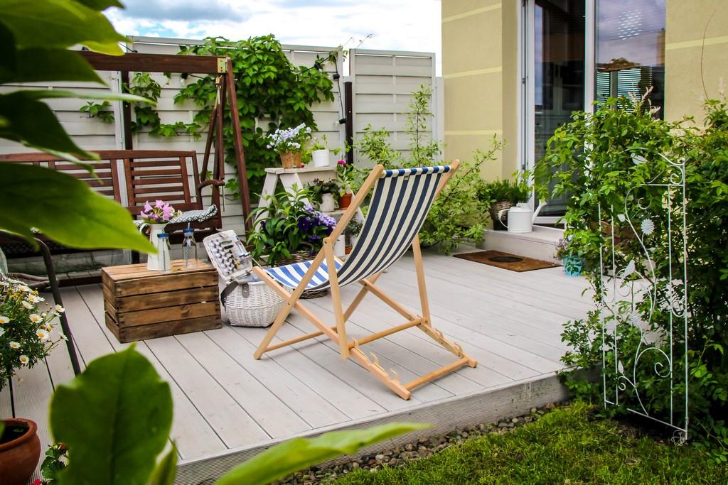 ogródek na parterze