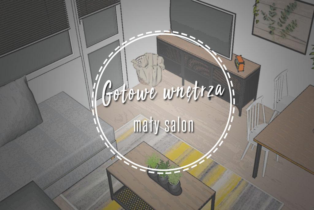 mały salon jak urządzić