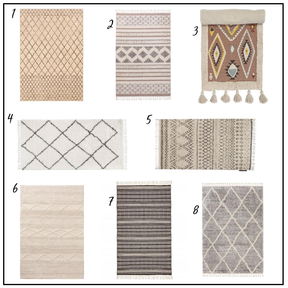 dywany scandi boho