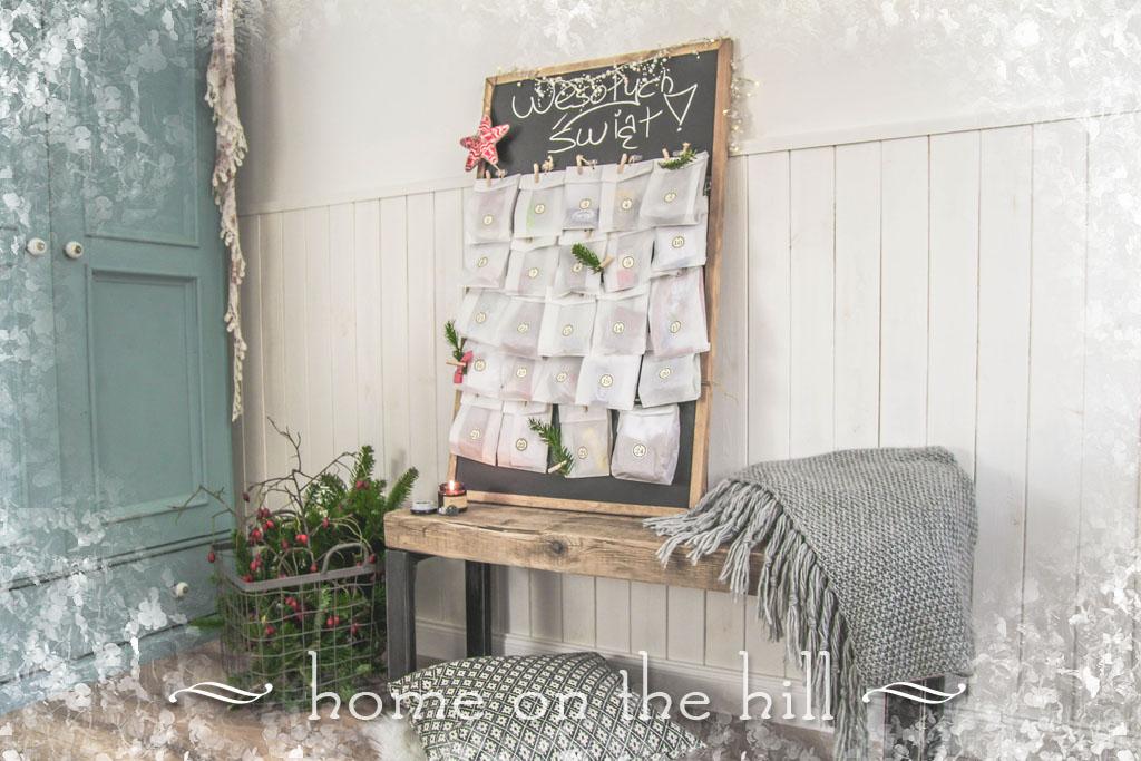 kalendarze adwentowe DIY