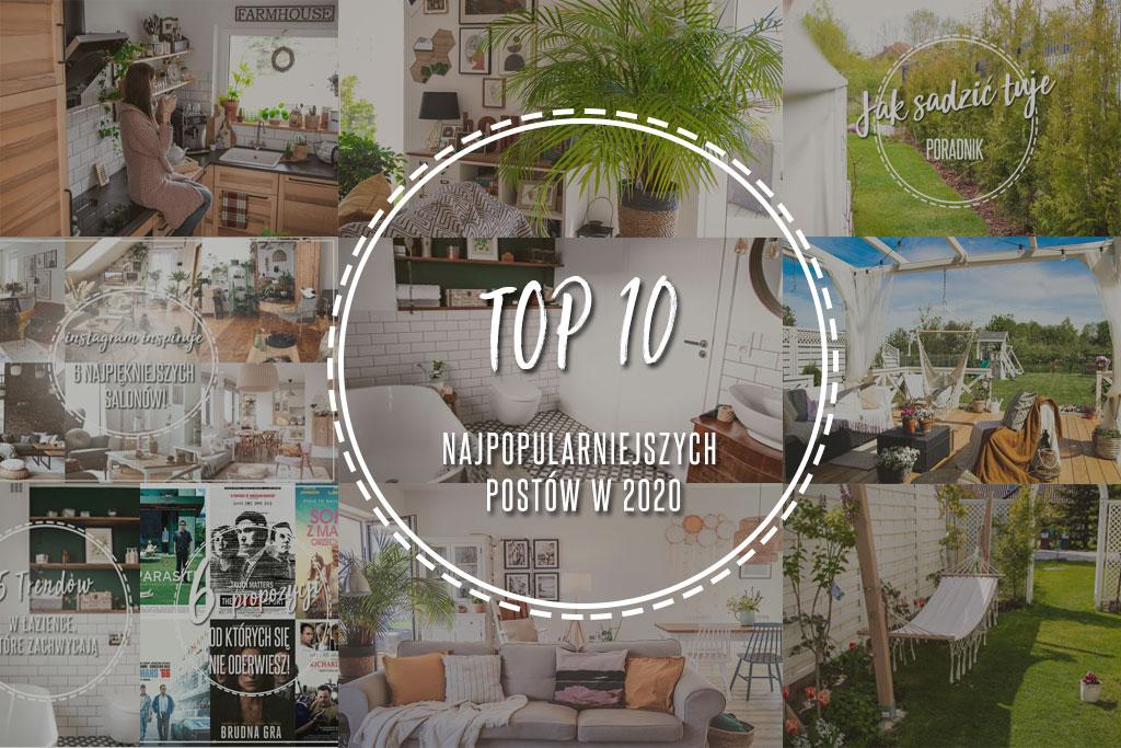Top 10 najpopularniejszych postów w 2020!