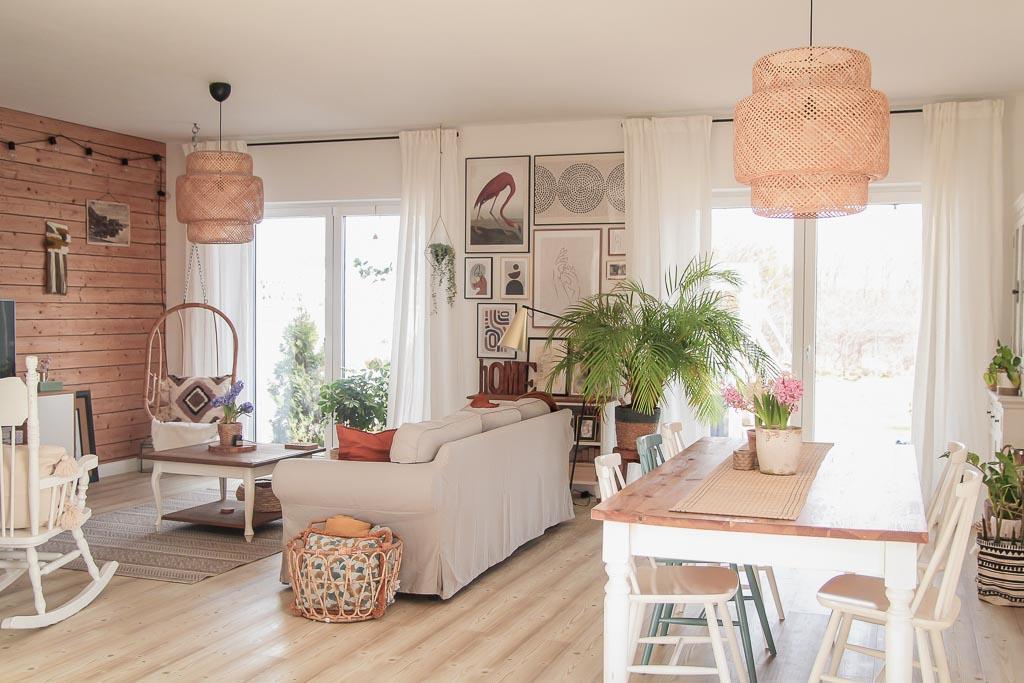 Aranżacja okien i zmiany w salonie