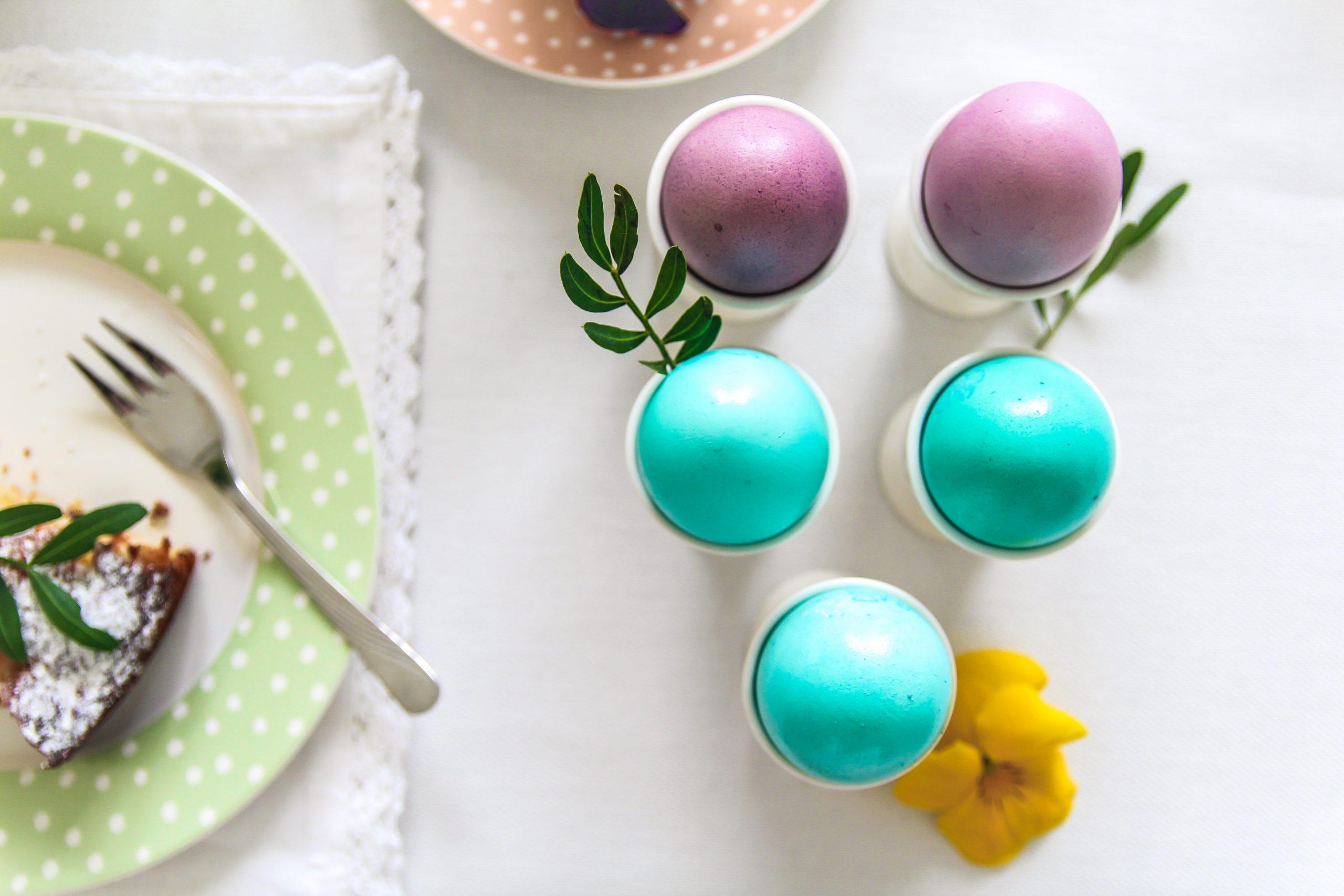 pastelowe jajka na wielkanoc